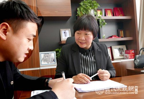 【河南供稿 卫辉市是县级市】保险路上的追梦人——记中国人寿优秀经理龚玉清